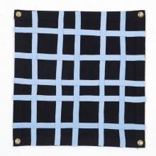 Sky-Blue Basic Weave